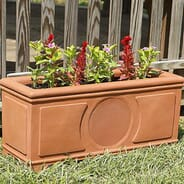Todays Home & Leisure - PB6si Planter Speakers - Terra Cotta color