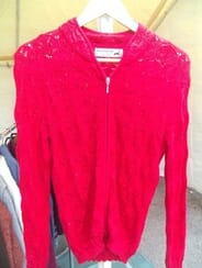 Alpaca Country Clothing and Gifts - Womens Lace Zip-Up Sweater