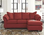 Premiere Rental-Purchase - Ashley Darcy Sofa Chaise in Salsa (Model #7500118)