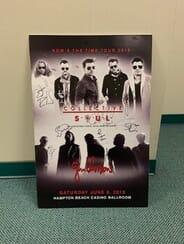 Collective Soul - Autographed Gig Poster