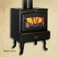 Willow Creek Hearth & Leisure - Appalachian Stove Trailmaster 4N1 Wood Stove valued at $2,800