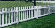 Liberty Fence - White PVC Fencing with Installation