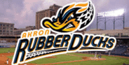 AKRON RUBBER DUCKS BASEBALL - FOUR PACK OF TICKETS