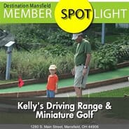Kellys Driving Range & Miniature Golf - Single Driving Range Membership with Unlimited Balls