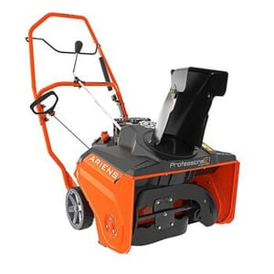 PRECISION LAWN AND GARDEN EQUIPMENT CO. - Professional SS 21 in. 208cc Single-Stage Remote Chute, Recoil-Start Gas Snow Blower