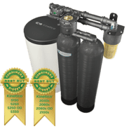 Gordon Water Systems - Twin Tank, Non-Electric Kinetico Premier Series water conditioning system