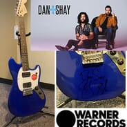 ZZU Christmas Wish Auction - Dan + Shay Signed Guitar