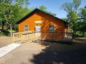 Oakland Mills Park - Two consecutive night stay at Recreational Cabins near Skunk River