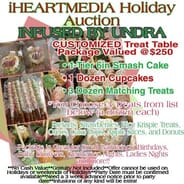 INFUSED BY UNDRA - TREAT TABLE FOR ANY OF YOUR HOLIDAY OR PARTY IDEAS!