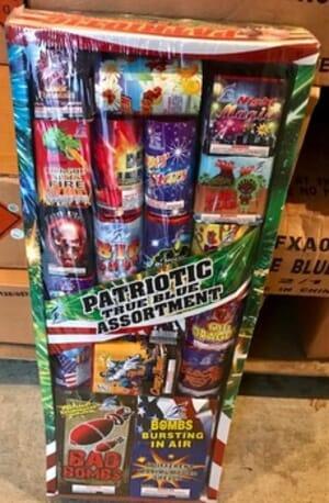 Montana Fireworks - Patriotic True Blue Assortment