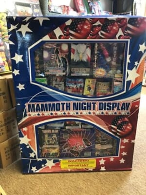Montana Fireworks - Mammoth Night Display