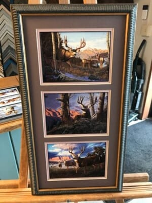Big Horn Design and Art Gallery - Heading to Water by Tom Mansanarez