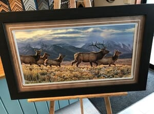Big Horn Design and Art Gallery - On the Run by Kalon Bayghan