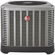Trusted Comfort Heating and Cooling - Rheem 2 ton Air Conditioner-Unit and installation